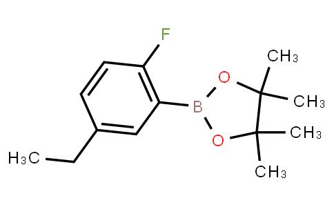 BP23012   5-Ethyl-2-fluorophenylboronic acid pinacol ester