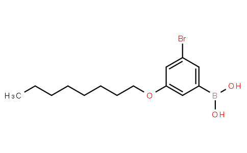 BP23031   2121512-47-6   3-Bromo-5-octyloxyphenylboronic acid
