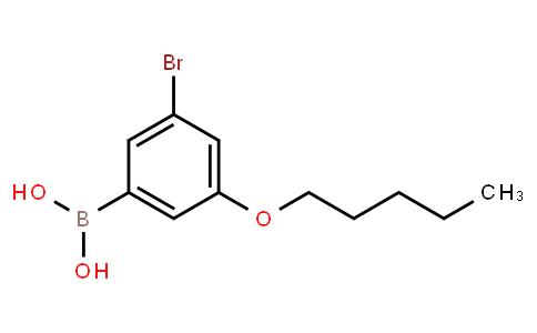 BP23044   2121512-33-0   5-Bromo-3-pentyloxyphenylboronic acid