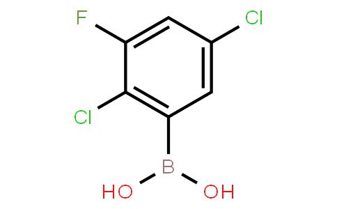 2,5-Dichloro-3-fluorophenylboronic acid