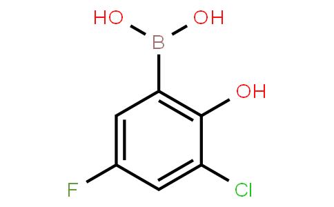 BP23051 | 2121515-30-6 | 3-Chloro-5-fluoro-2-hydroxyphenylboronic acid