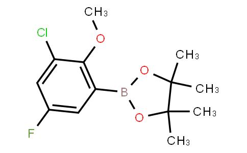 BP23054 | 2121514-87-0 | 3-Chloro-5-fluoro-2-methoxyphenylboronic acid pinacol ester