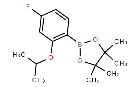 BP23063 | 1688656-87-2 | 4-Fluoro-2-isopropoxyphenylboronic acid pinacol ester