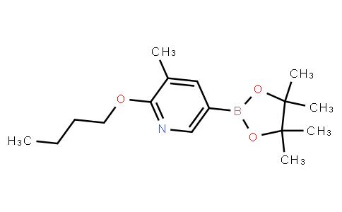 BP23065 | 1375303-05-1 | 2-Butoxy-3-methyl-5-(4,4,5,5-tetramethyl-1,3,2-dioxaborolan-2-yl)pyridine