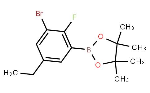 BP23066   2121514-74-5   3-Bromo-5-ethyl-2-fluorophenylboronic acid pinacol ester