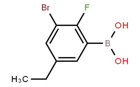 BP23067 | 2121512-65-8 | 3-Bromo-5-ethyl-2-fluorophenylboronic acid