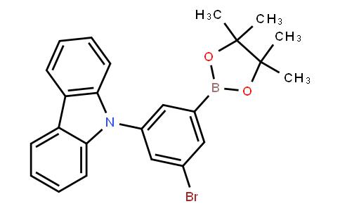 BP23072   2121512-10-3   3-Bromo-5-(9H-carbazol-9-yl)-phenylboronic acid pinacol ester