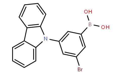 BP23073   2084131-60-0   3-Bromo-5-(9H-carbazol-9-yl)-phenylboronic acid