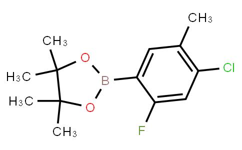 BP23077   1126320-27-1   4-Chloro-2-fluoro-5-methylphenylboronic acid, pinacol ester