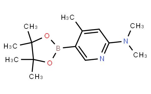 BP23079 | 1046862-09-2 | 2-(Dimethylamino)-4-methylpyridine-5-boronic acid pinacol ester