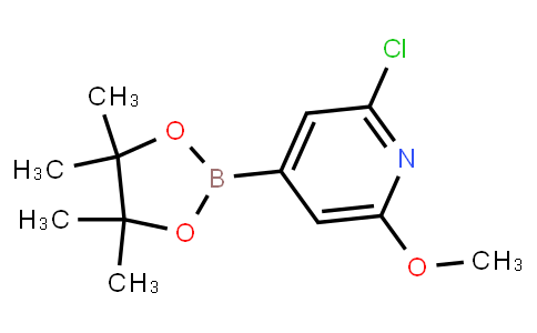 BP23087   697739-24-5   2-Chloro-6-methoxypyridine-4-boronic acid pinacol ester