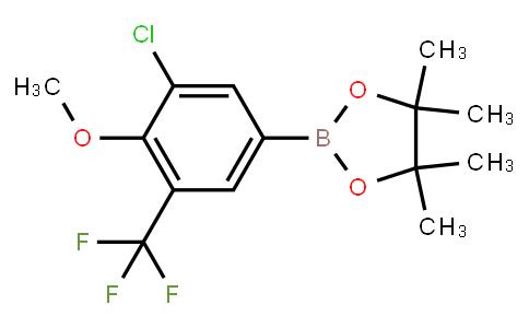 BP23103   2121512-82-9   2-(3-Chloro-4-methoxy-(5-trifluoromethyl)phenyl)-4,4,5,5-tetramethyl-1,3,2-dioxaborolane