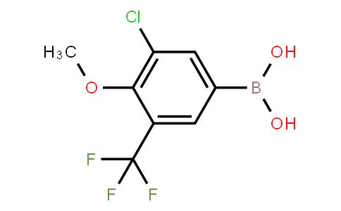 BP23104 | 2121515-22-6 | 3-Chloro-4-methoxy-5-(trifluoromethyl)phenylboronic acid