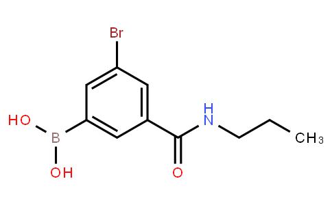 BP23112 | 2121512-78-3 | 5-Bromo-3-(N-propylaminocarbonyl)phenylboronic acid