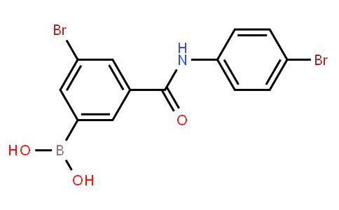 BP23114 | 2121515-19-1 | 5-Bromo-3-(4-bromophenylcarbamoyl)phenylboronic acid