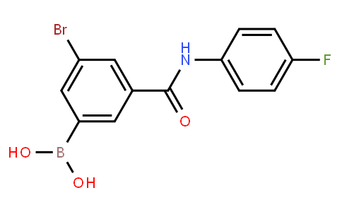 BP23115 | 2121513-21-9 | 5-Bromo-3-(4-fluorophenyl)aminocarbonylphenylboronic acid