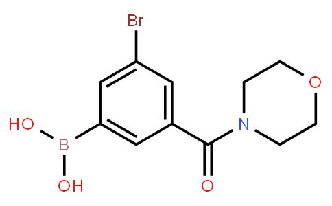 BP23116 | 2121512-75-0 | 5-Bromo-3-(morpholine-4-carbonyl)phenylboronic acid