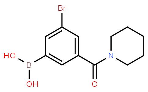 BP23117 | 2121514-06-3 | 5-Bromo-3-(piperidine-1-carbonyl)phenylboronic acid