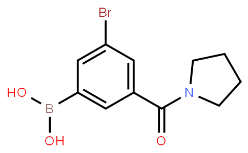 BP23118 | 2121514-36-9 | 5-Bromo-3-(pyrrolidine-1-carbonyl)phenylboronic acid