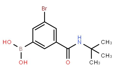 5-Bromo-3-(tert-butylaminocarbonyl)phenylboronic acid