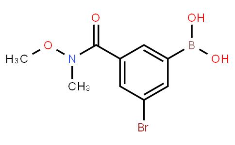 BP23120   2121514-03-0   5-Bromo-3-(N,O-dimethylhydroxylaminocarbonyl)phenylboronic acid
