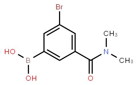 BP23122 | 2121513-19-5 | 5-Bromo-3-(N,N-dimethylaminocarbonyl)phenylboronic acid