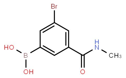 BP23123 | 2121515-18-0 | 5-Bromo-3-(N-methylaminocarbonyl)phenylboronic acid