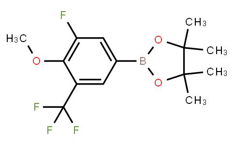 BP23127 | 2121513-13-9 | 3-Fluoro-4-methoxy-5-trifluoromethylphenylboronic acid pinacol ester