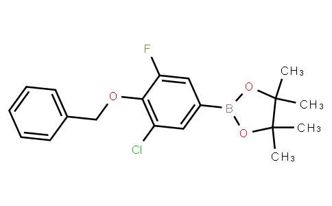 BP23143   2121515-13-5   4-Benzyloxy-3-chloro-5-fluorobenzeneboronic acid pinacol ester