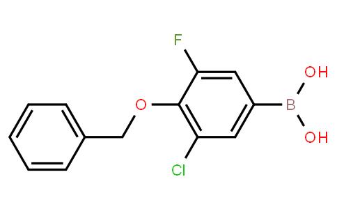 BP23144 | 2096340-08-6 | 4-Benzyloxy-3-chloro-5-fluorobenzeneboronic acid