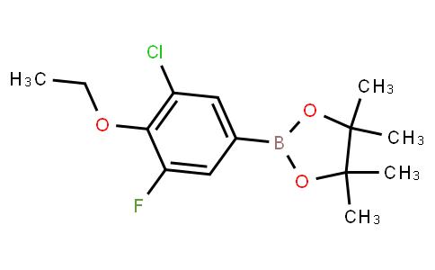 BP23146   1668474-08-5   3-Chloro-4-ethoxy-5-fluorophenylboronic acid pinacol ester