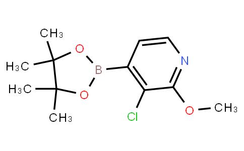 BP23153 | 1073353-73-7 | 3-Chloro-2-methoxypyridine-4-boronic acid pinacol ester