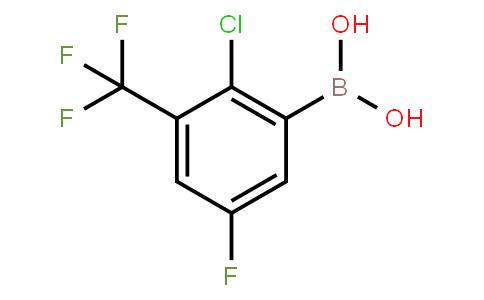 BP23160   2121513-70-8   2-Chloro-5-fluoro-3-(trifluoromethyl)phenylboronic acid
