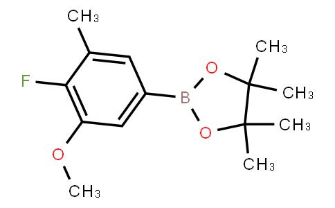 BP23169 | 2121514-30-3 | 4-Fluoro-3-methoxy-5-methylphenylboronic acid pinacol ester