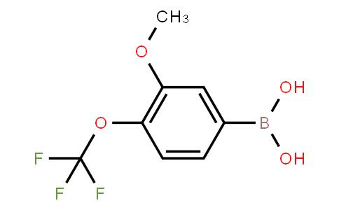 BP23180 | 2096329-73-4 | 3-Mthoxy-4-(trifluoromethoxy)phenylboronic acid