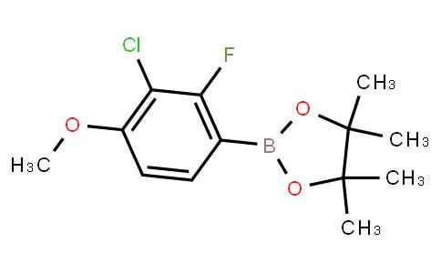 BP23187 | 2121512-36-3 | 3-Chloro-2-fluoro-4-methoxyphenylboronic acid pinacol ester