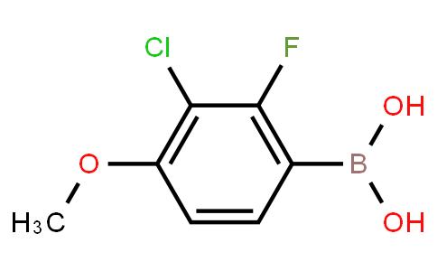 BP23188   2096454-16-7   3-Chloro-2-fluoro-4-methoxyphenylboronic acid