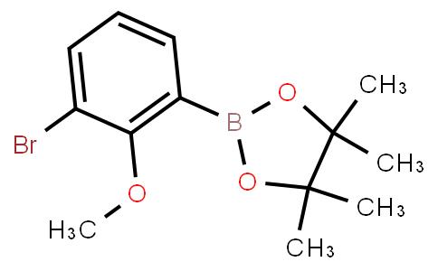 BP23200 | 2096997-23-6 | 3-Bromo-2-methoxyphenylboronic acid pinacol ester