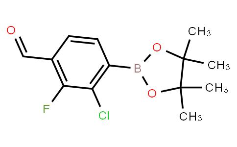 BP23202 | 2121514-29-0 | 2-Chloro-3-fluoro-4-formylphenylboronic acid pinacol ester