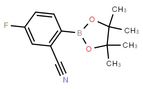 BP23210 | 624741-47-5 | 2-Cyano-4-fluorophenylboronic acid pinacol ester