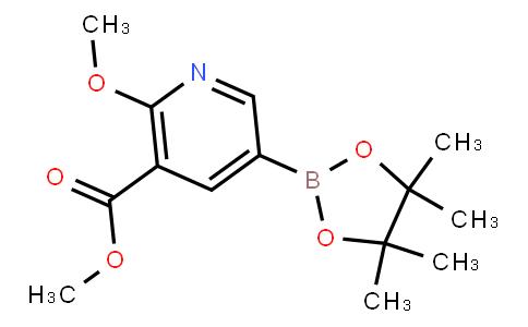 BP23215   1083168-93-7   2-Methoxy-3-(carbomethoxy)pyridine-5-boronic acid, pinacol ester