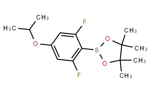 BP23226 | 1395282-52-6 | 2-(2,6-Difluoro-4-isopropoxyphenyl)-4,4,5,5-tetramethyl-1,3,2-dioxaborolane