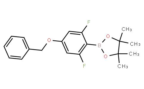 BP23228 | 2121514-21-2 | 4-Benzyloxy-2,6-difluorophenylboronic acid pinacol ester