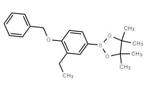 BP23234 | 1257078-56-0 | 2-(4-(benzyloxy)-3-ethylphenyl)-4,4,5,5-tetramethyl-1,3,2-dioxaborolane