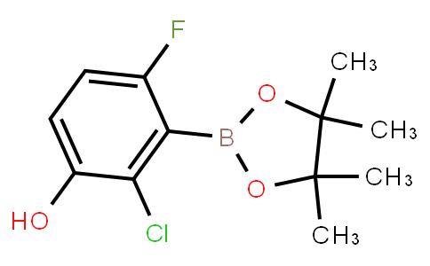 BP23240 | 2121512-89-6 | 2-Chloro-6-fluoro-3-hydroxyphenylboronic acid pinacol ester