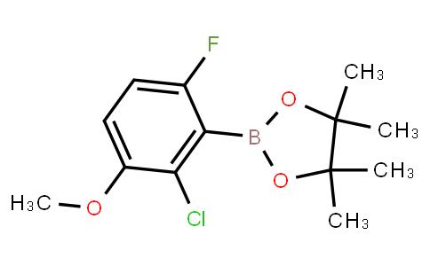 BP23245   2121512-16-9   2-Chloro-6-fluoro-3-methoxyphenylboronic acid pinacol ester