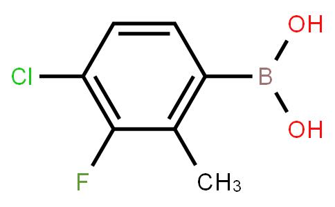 BP23252 | 4-Chloro-3-fluoro-2-methylphenylboronic acid