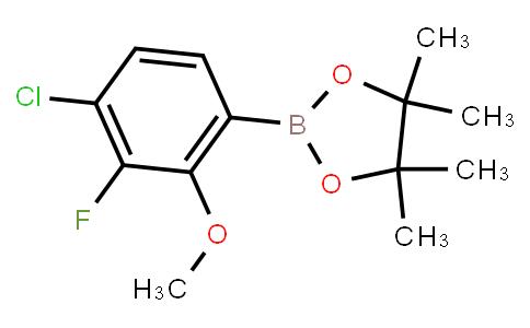 BP23270 | 1628524-83-3 | 4-Chloro-3-fluoro-2-methoxyphenylboronic acid pinacol ester