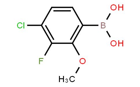BP23271 | 2121515-10-2 | 4-Chloro-3-fluoro-2-methoxyphenylboronic acid