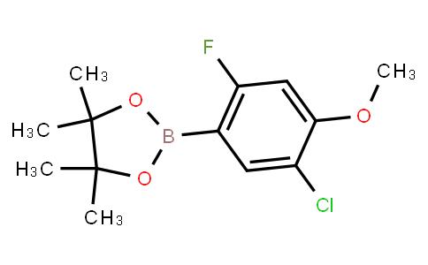 BP23283 | 2121513-64-0 | 5-Chloro-2-fluoro-4-methoxyphenylboronic acid pinacol ester
